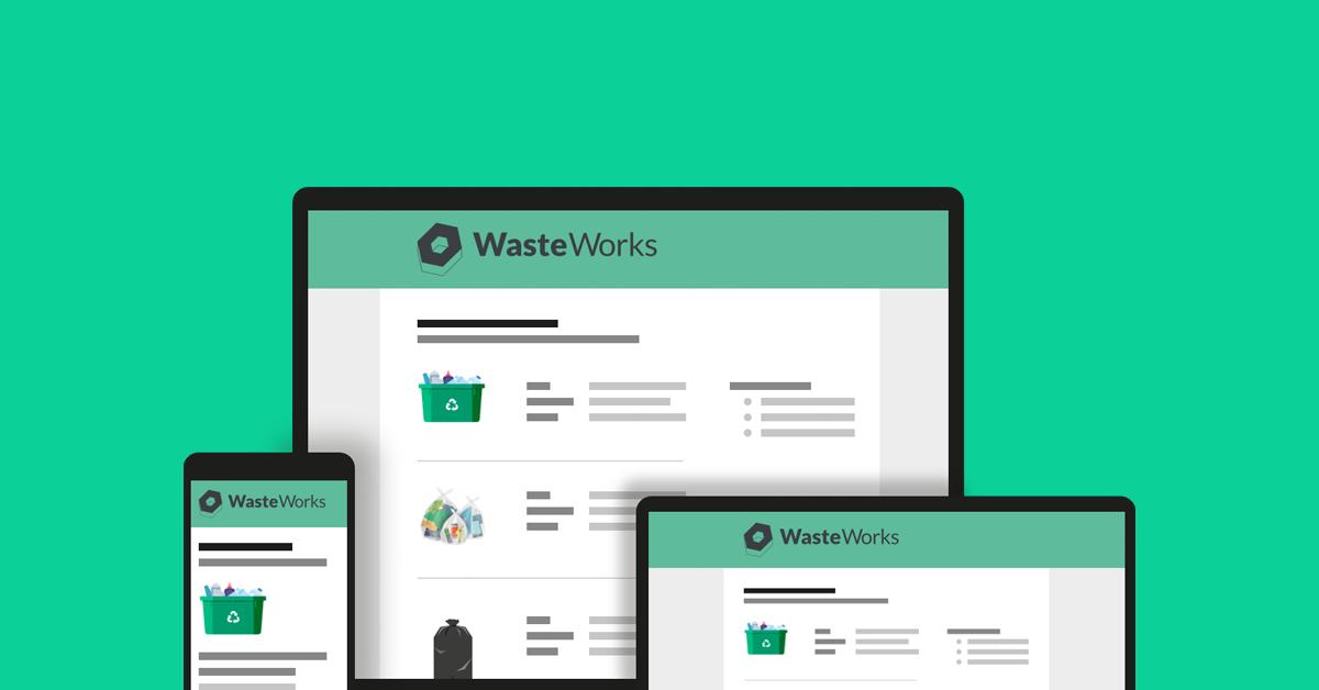 WasteWorks - our new digital waste management service